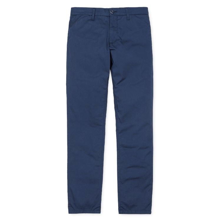 Carhartt WIP Johnson Pant Blue Iris