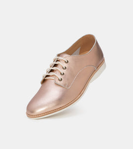 Rollie Derby Unlined Rose Gold Metallic