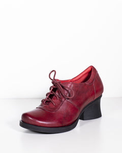 Minki Viola Red Leather