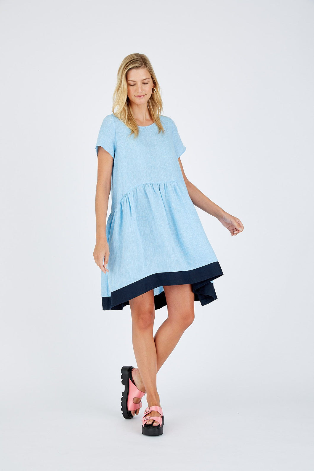 Alessandra Celeste Dress Azure