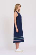 Load image into Gallery viewer, Alessandra Monaco Dress Navy