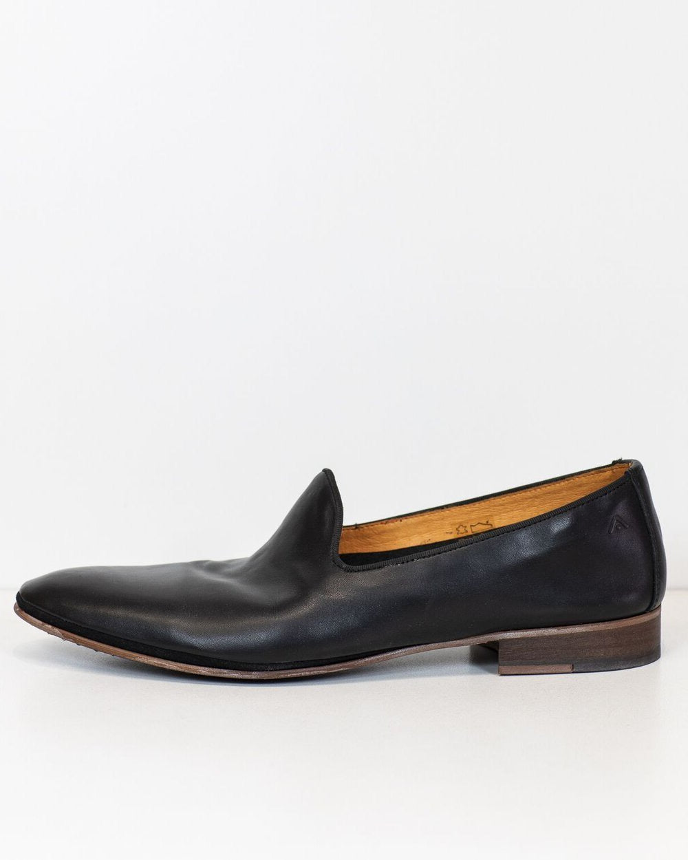 Ambitious Loafer Black Leather