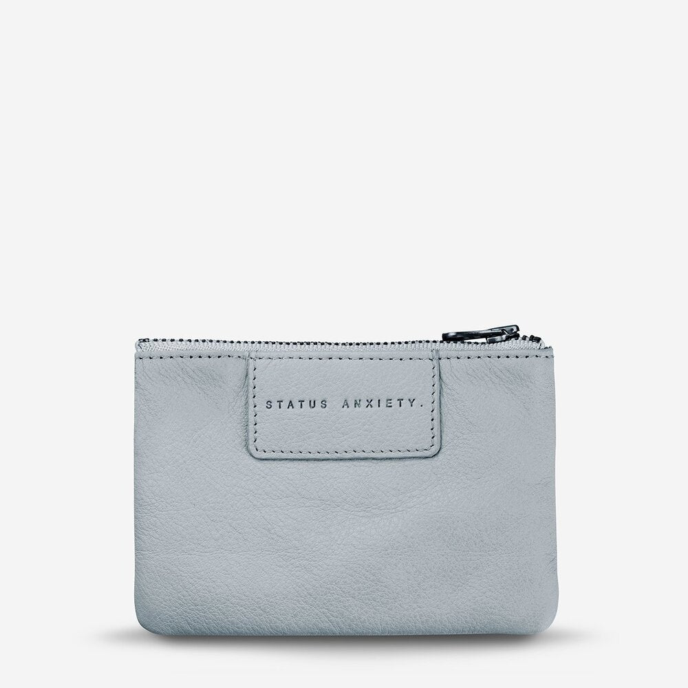 Status Anxiety Anarchy Purse Arctic Grey Leather
