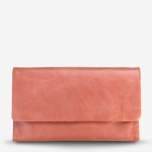 Status Anxiety Audrey Wallet Pink Leather