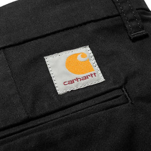Carhartt WIP Sid Pant in 'Black Rinsed'