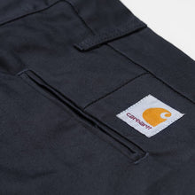 Load image into Gallery viewer, Carhartt WIP Sid Pant in 'Dark Navy Rinsed'
