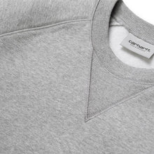 Load image into Gallery viewer, Carhartt WIP Chase Sweat Grey Heather/Gold