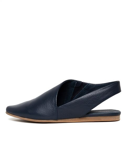 Django & Juliette Codie Navy Leather