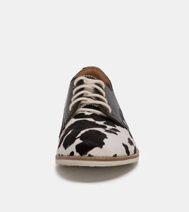 Rollie Derby Cow Hide/Black
