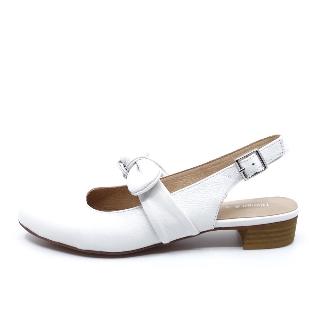 Django & Juliette Ezell White Leather