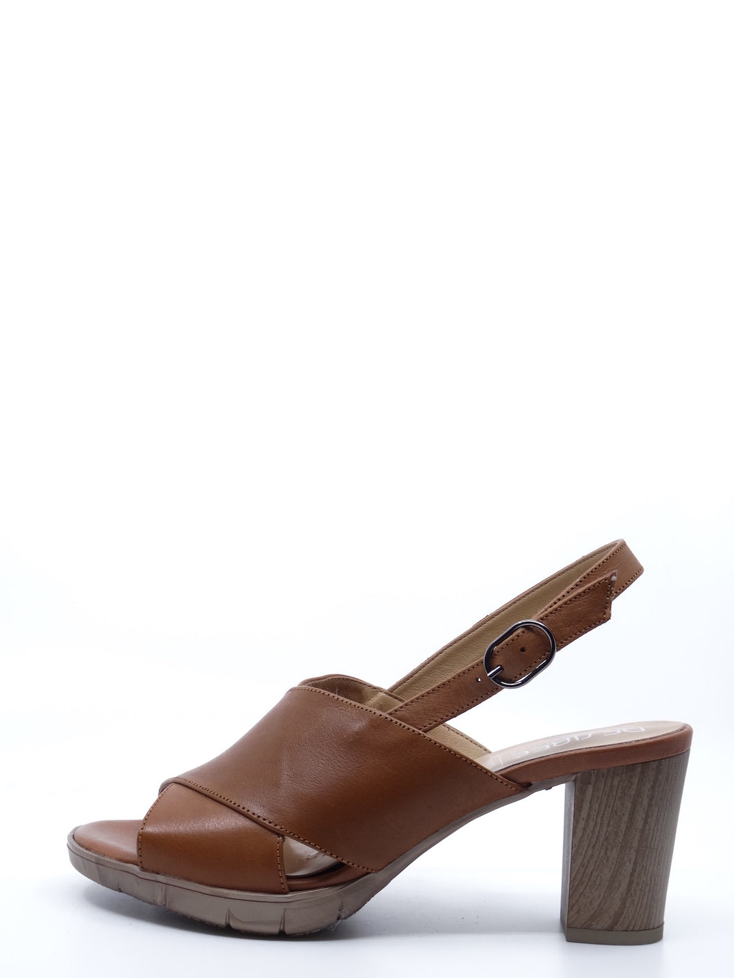 Desiree Dijon Tobaco Leather