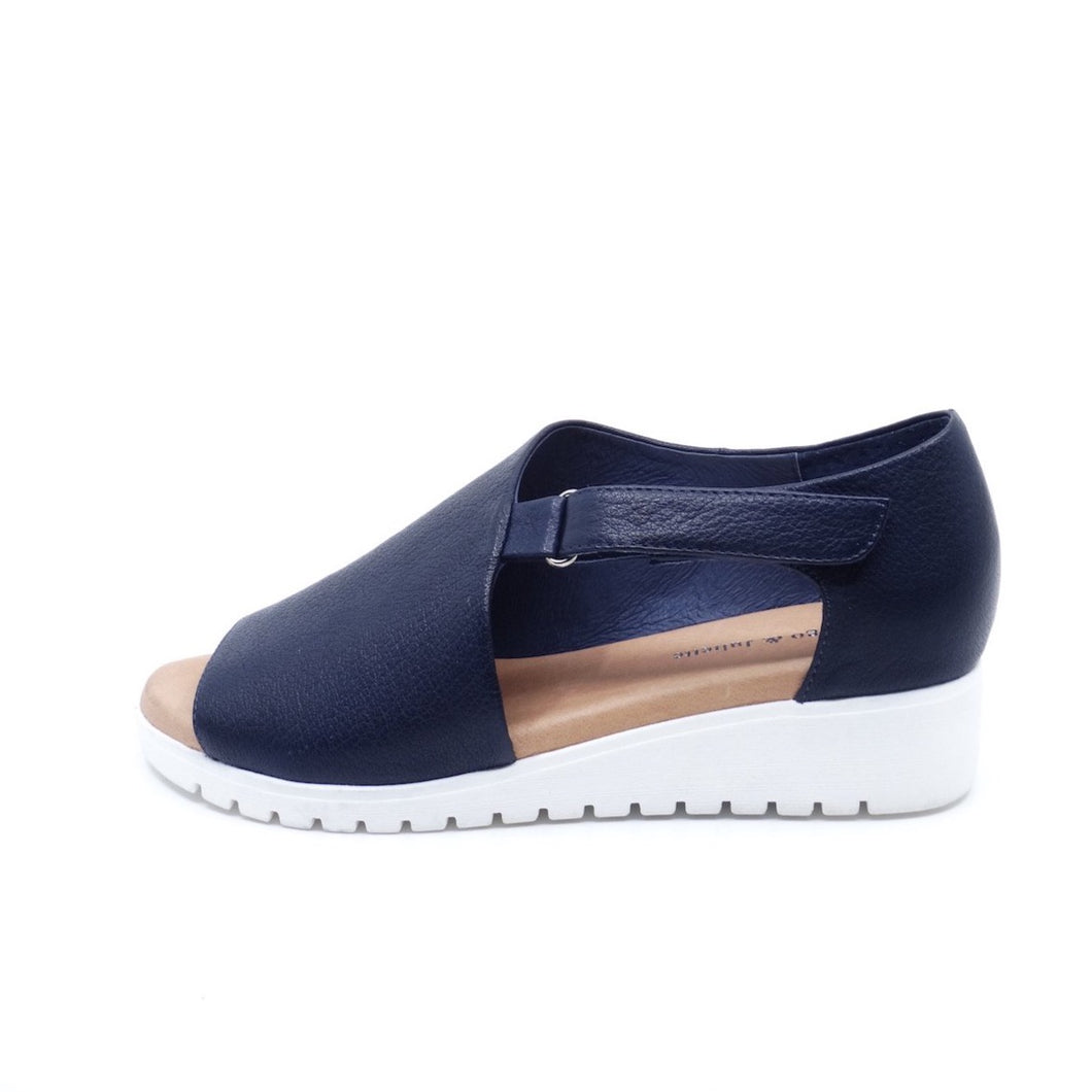 Django & Juliette Minta Navy Leather