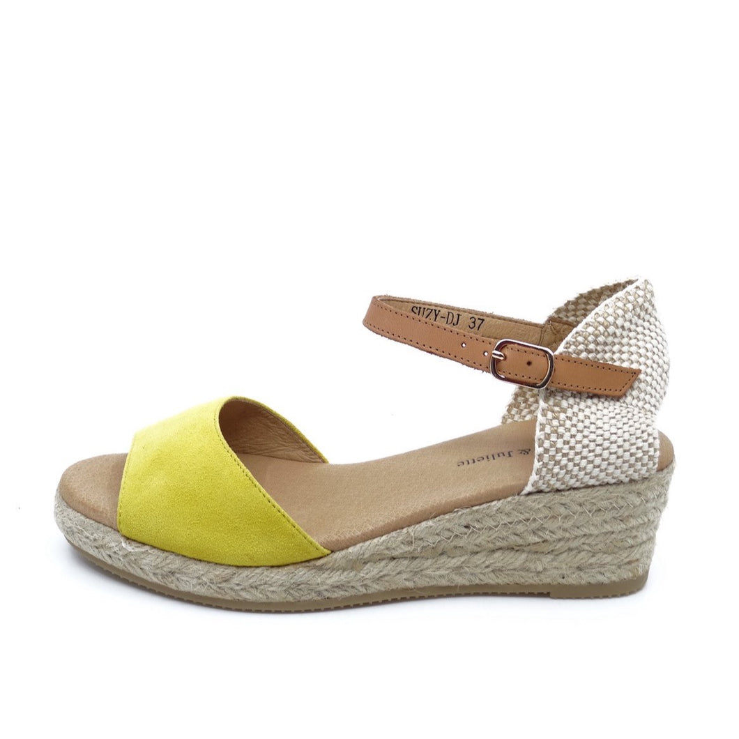 Django & Juliette Suzy Yellow Suede