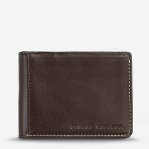Status Anxiety Ethan Wallet Chocolate Leather