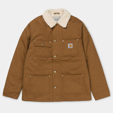 Load image into Gallery viewer, Carhartt WIP Fairmount Coat Hamilton Brown