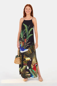 Farm Rio Toucan Maxi Dress