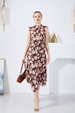 Load image into Gallery viewer, G.D.S Phoebe Floral Sleeveless Dress Red