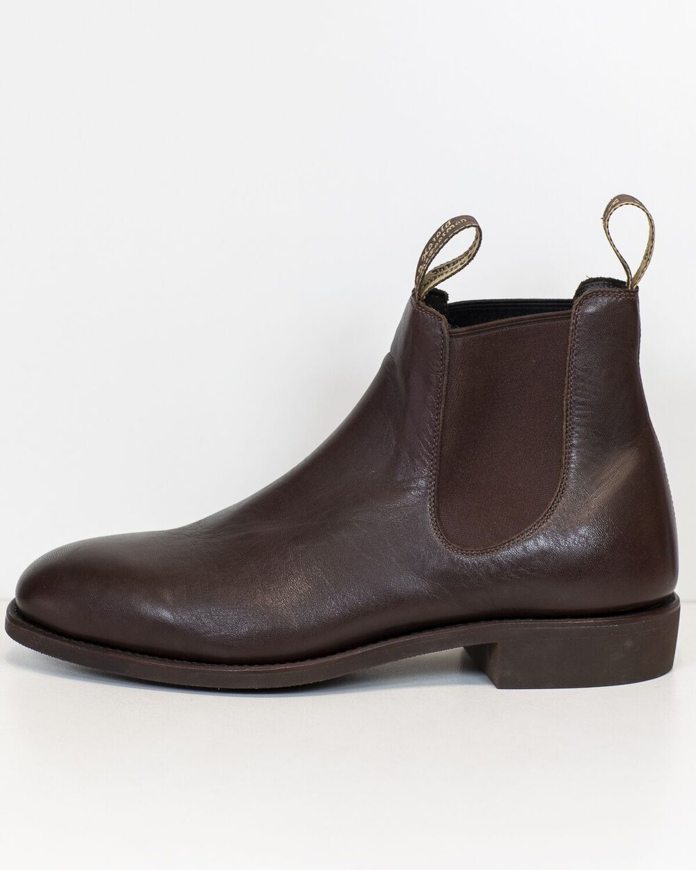 Harold Boot Grazier Chocolate Leather