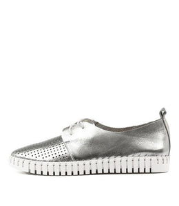 Django & Juliette Huston Silver Leather