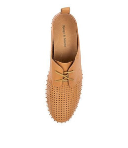 Django & Juliette Huston Tan Leather