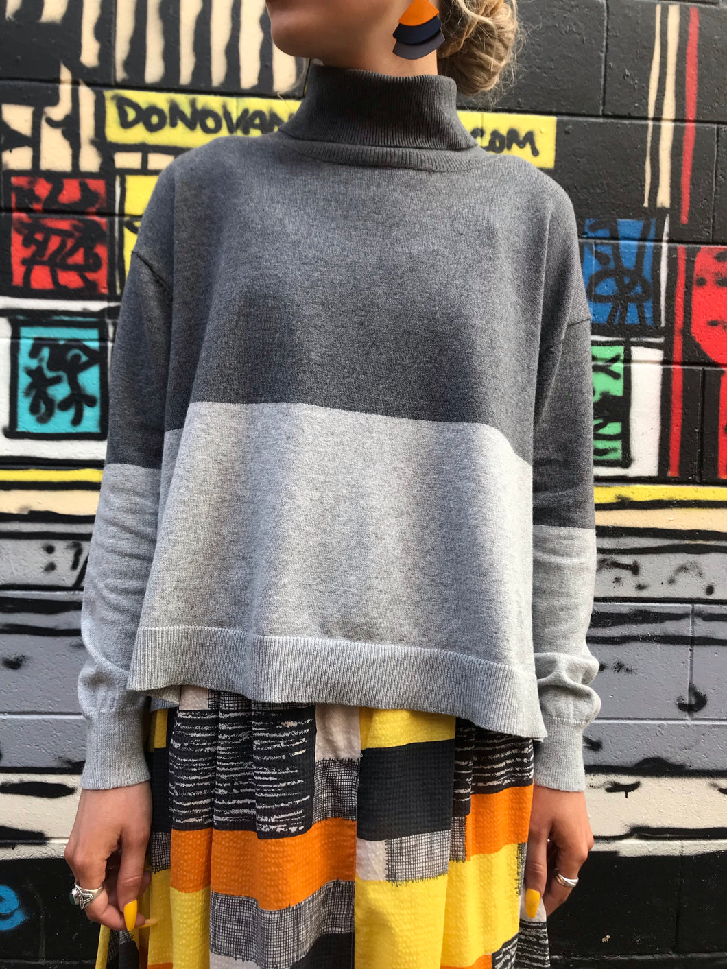Barry Made Greville Knit Grey