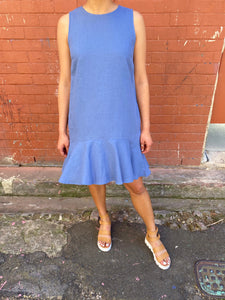 Leoni Lina Dress Blue