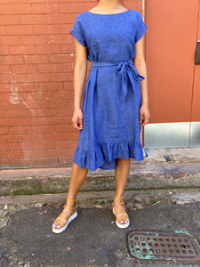 Alessandra Beatrice Dress Denim