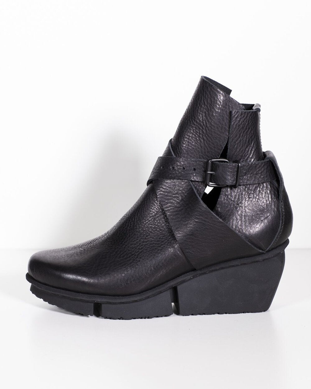 Trippen Just Black Waw Leather Black St Sole