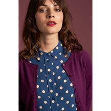 Load image into Gallery viewer, King Louie Raglan Cardi Striking Purple