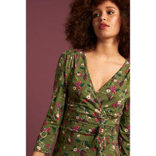 Load image into Gallery viewer, King Louie Cecil Dress Kansas Olive Green