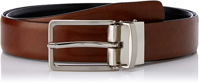 Loop Leather Co Benson Belt Brown/Black
