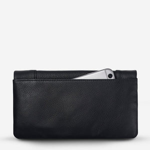 Status Anxiety Some Type Of Love Wallet Black Leather