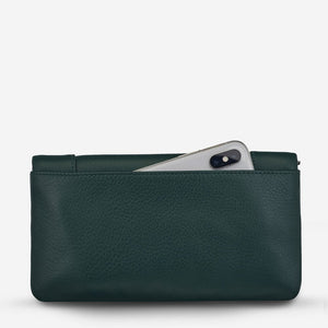 Status Anxiety Some Type of Love Wallet Teal Leather