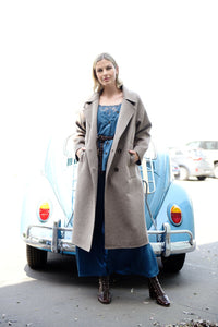 M. A. Dainty Cooler Coat Chestnut