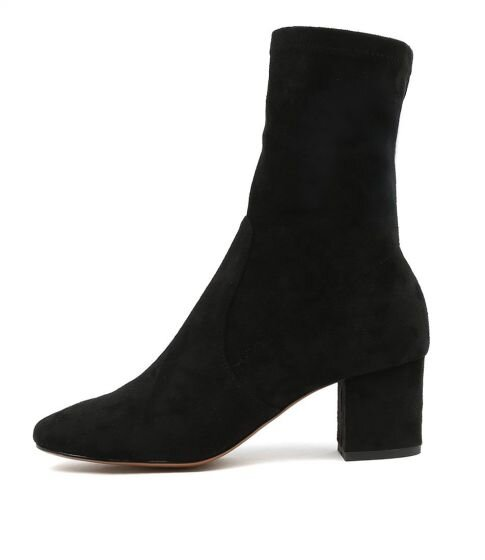 Mollini Careful Black Stretch Microsuede