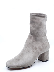 Mollini Careful Taupe Stretch Microsuede