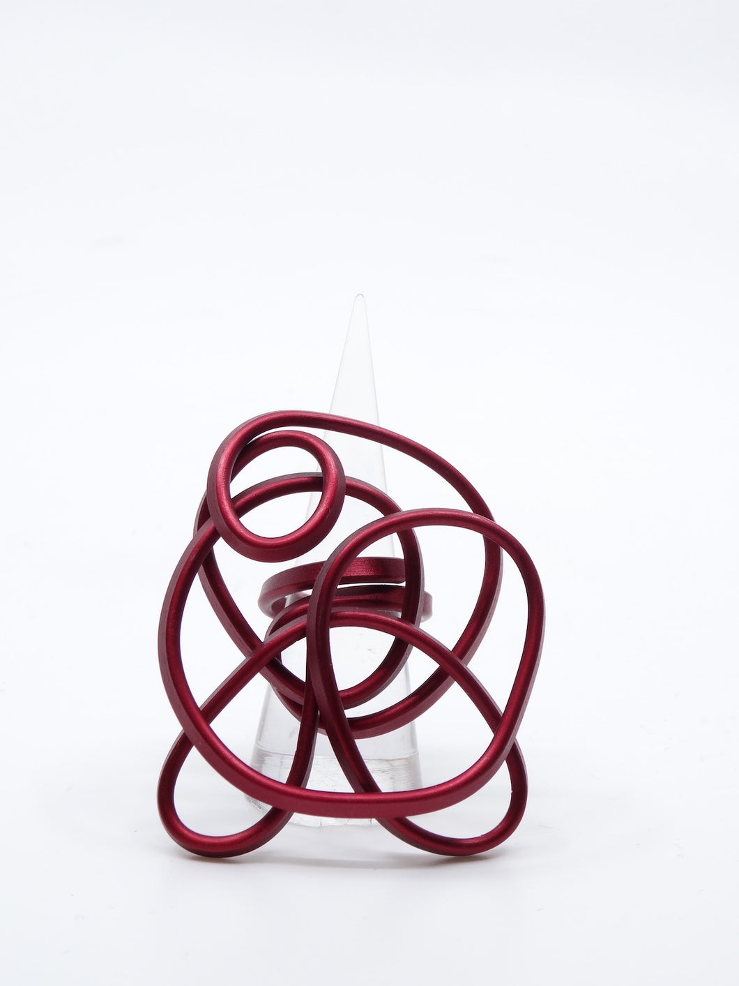 Monica Krexa Large Ring Red