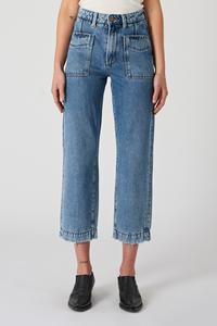 Neuw Denim Edie Straight Zero New Order Blue