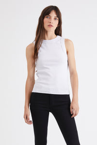 Neuw Denim Jonesy Singlet White