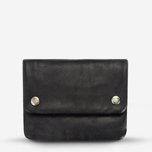 Status Anxiety Norma Wallet Black Leather