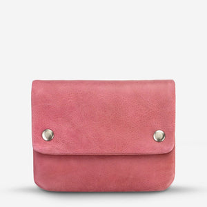 Status Anxiety Norma Wallet Pink Leather