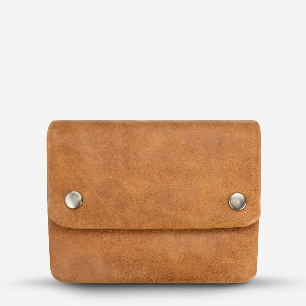 Status Anxiety Norma Wallet Tan Leather