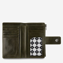 Load image into Gallery viewer, Status Anxiety Outsider Wallet Khaki Leather