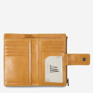 Status Anxiety Outsider Wallet Tan Leather