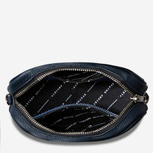 Load image into Gallery viewer, Status Anxiety Plunder Bag Navy Leather