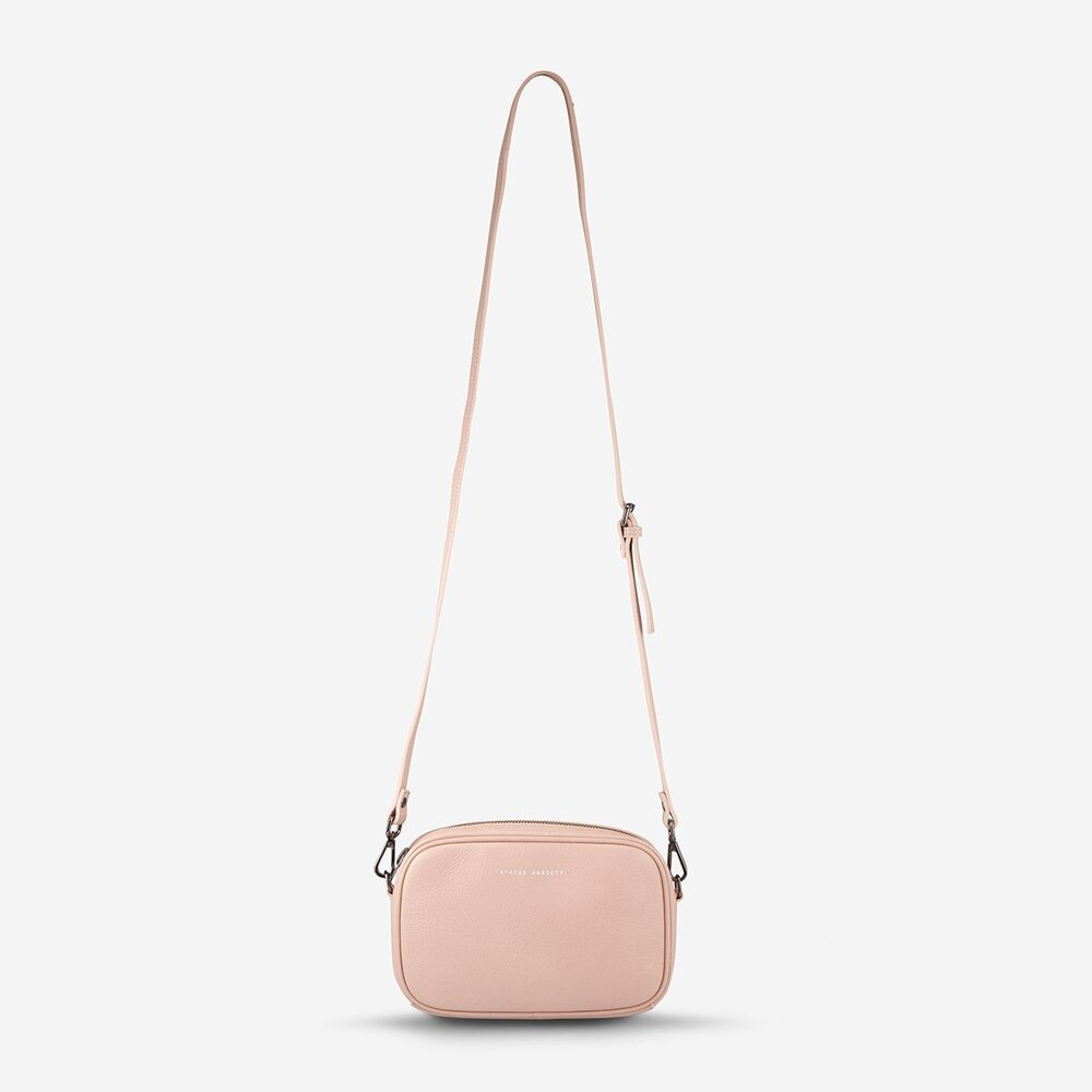 Status Anxiety Plunder Bag Pink Leather