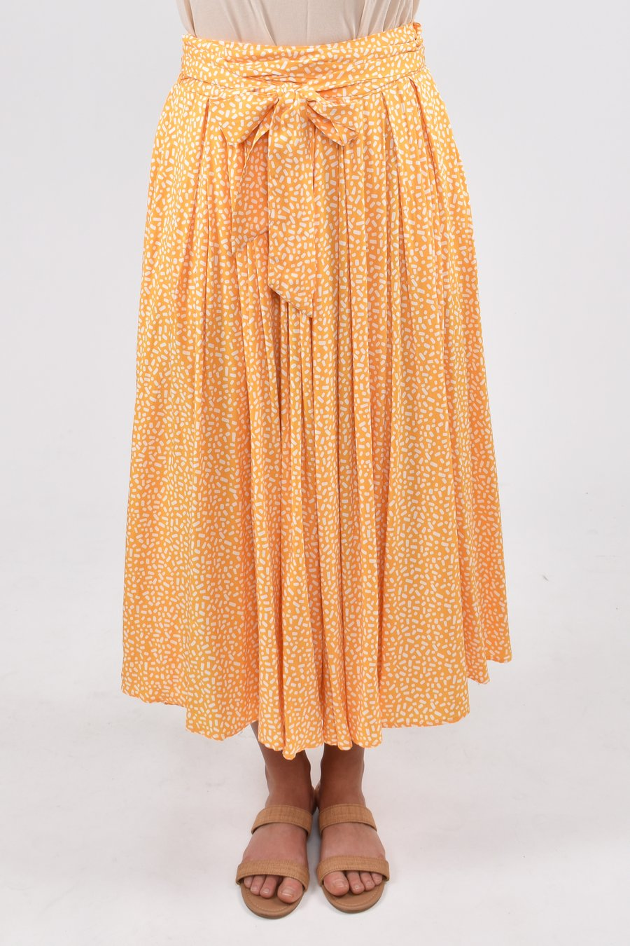 PQ Collection Twirl Skirt Sunshine