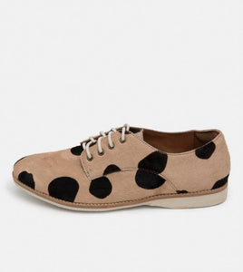Rollie Derby Beige/Black Spot
