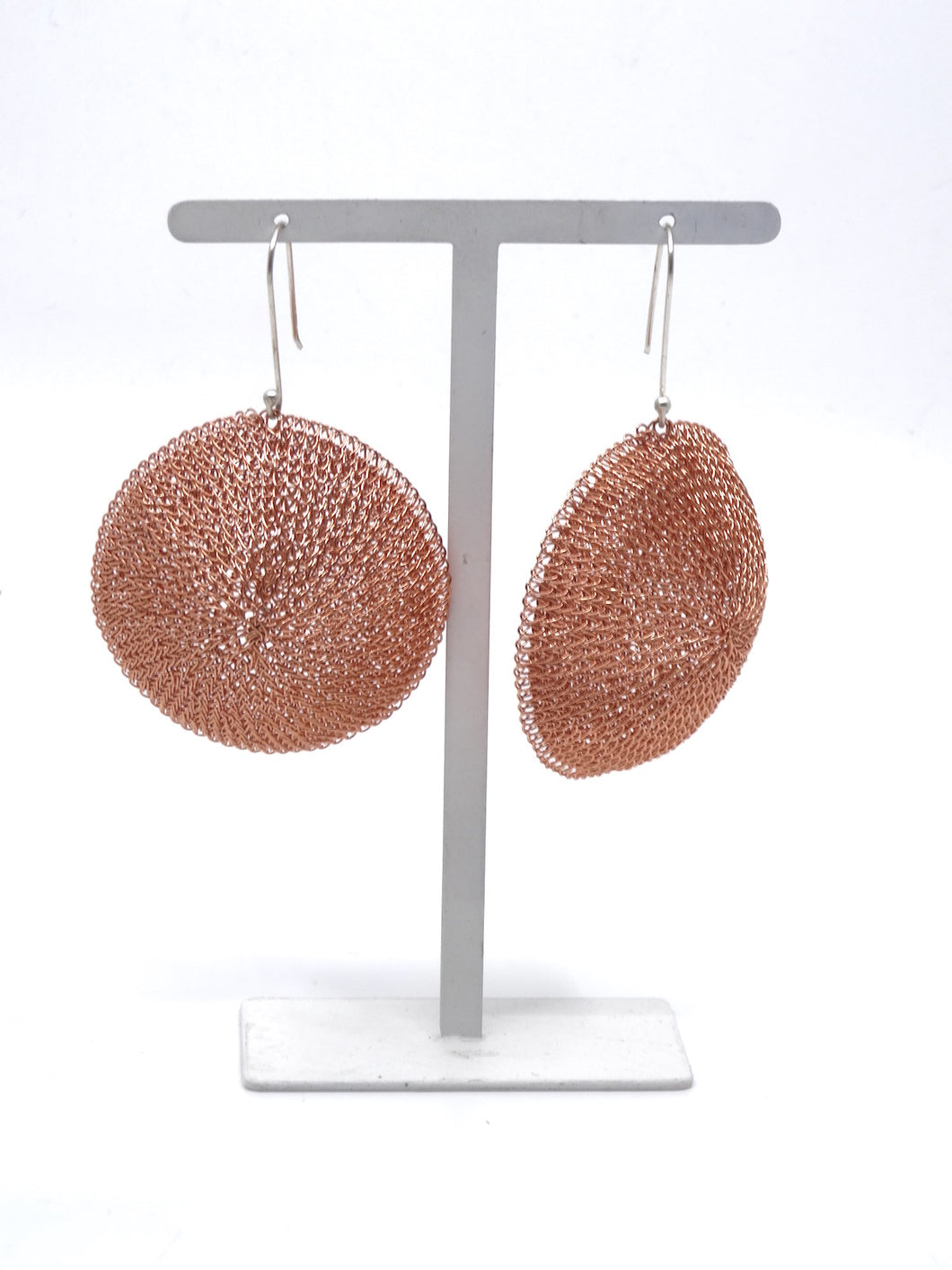 Seriously Dome Earrings Rust
