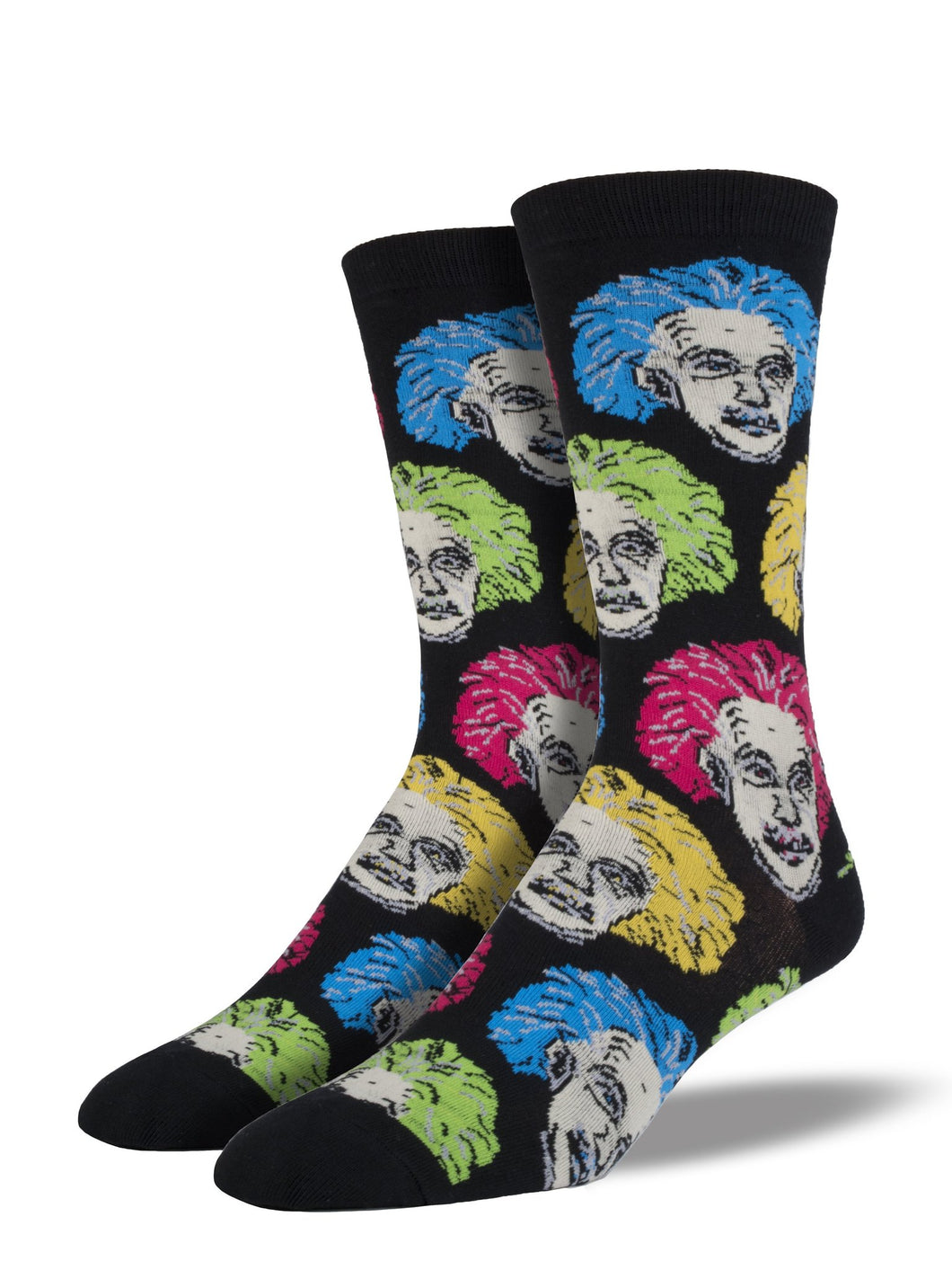 Socksmith 'Einstein' Black Mens Socks
